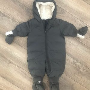 BabyGap Infant snowsuit with booties and mitts